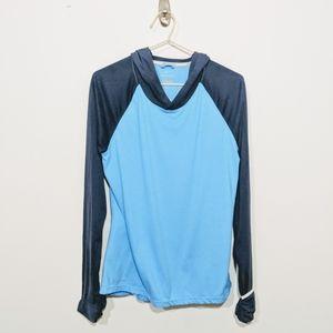 Nike Running Blue Dri-Fit Hoodie Size Medium